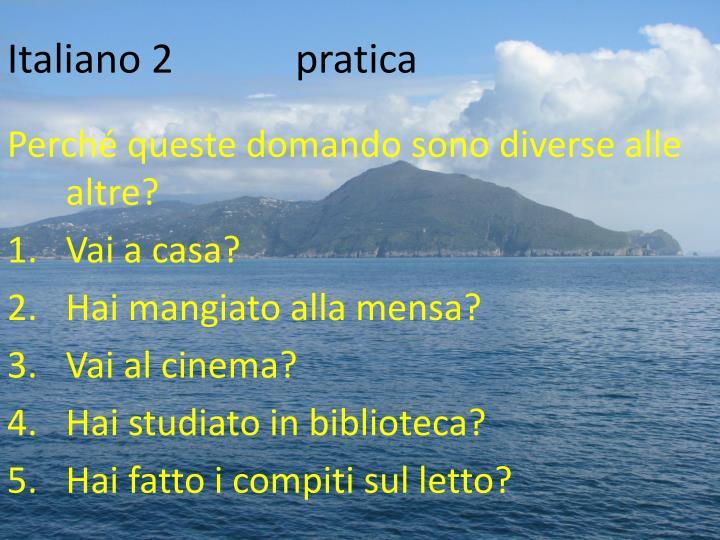 Italiano 2pratica