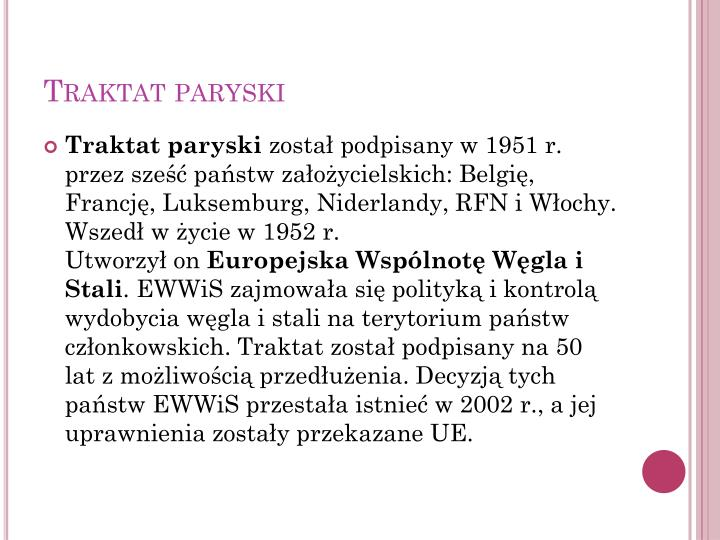 Traktat paryski