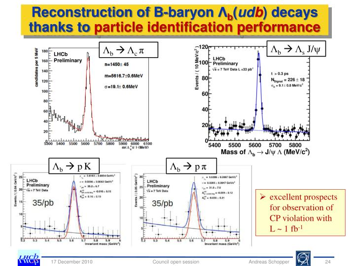 Reconstruction of B-baryon