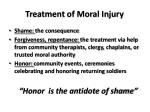 treatment of moral injury