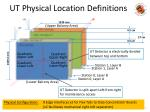 ut physical location definitions