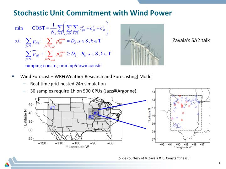 Stochastic unit commitment with wind power