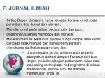 f jurnal ilmiah