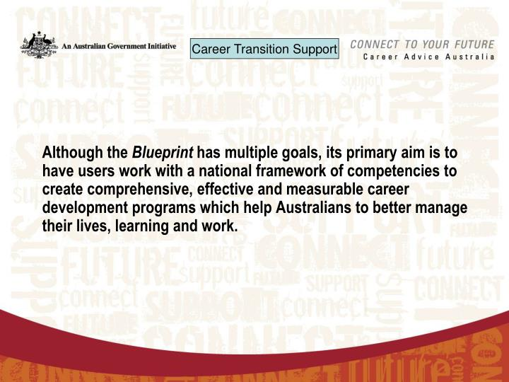 Ppt australian blueprint for career development the blueprint although the blueprint has multiple goals its primary aim is malvernweather