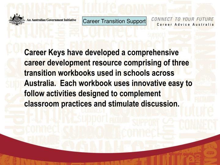 Ppt australian blueprint for career development the blueprint career keys have developed a comprehensive career development resource comprising of three transition workbooks used in schools across australia malvernweather Gallery