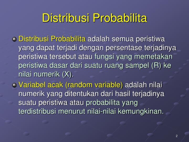 Distribusi probabilita1