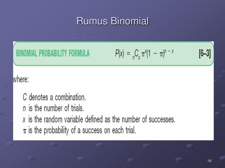 Rumus Binomial