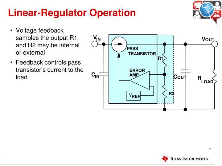 Linear regulator operation