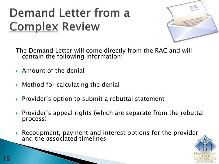 Demand Letter from a