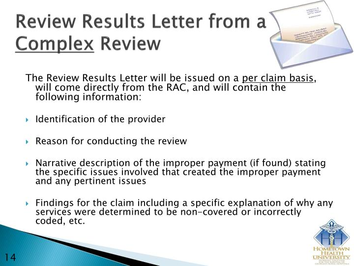Review Results Letter from a
