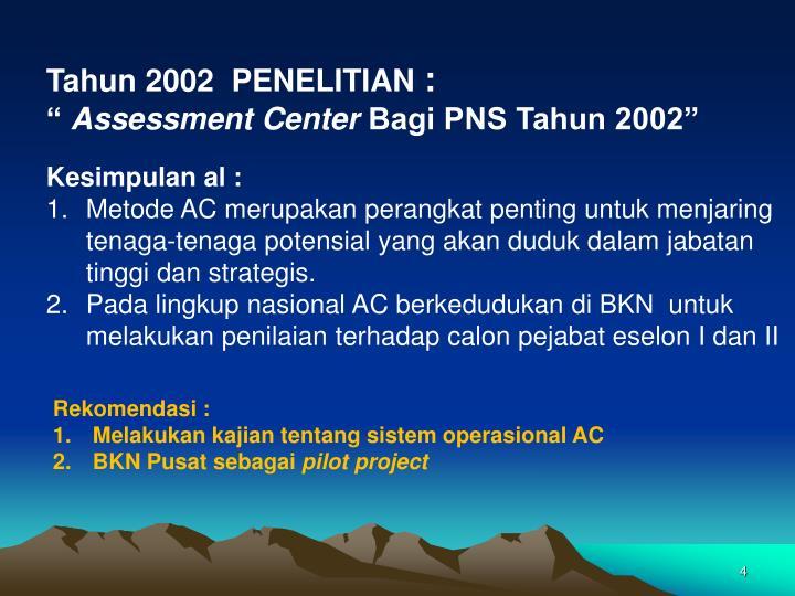 Tahun 2002