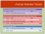 jurnal standar tanah