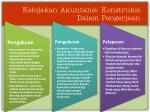 kebijakan akuntansi konstruksi dalam pengerjaan