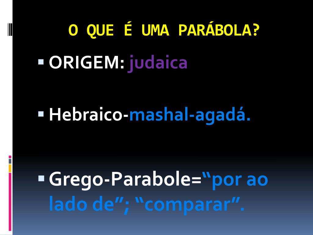 Ppt A Sabedoria Das Parabolas De Jesus Powerpoint Presentation Free Download Id 6330943