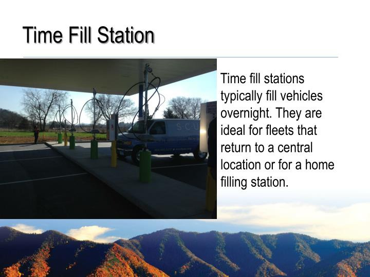 Time Fill Station