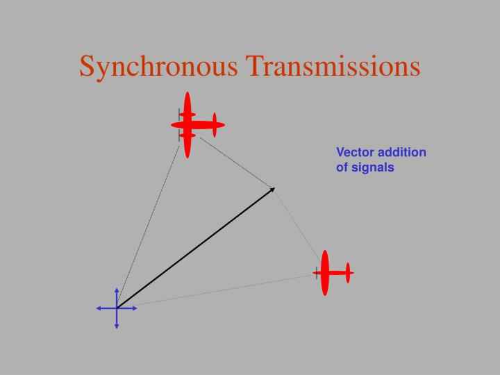 Synchronous Transmissions