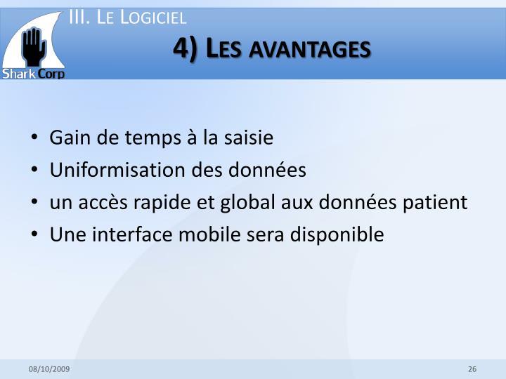 III. Le Logiciel