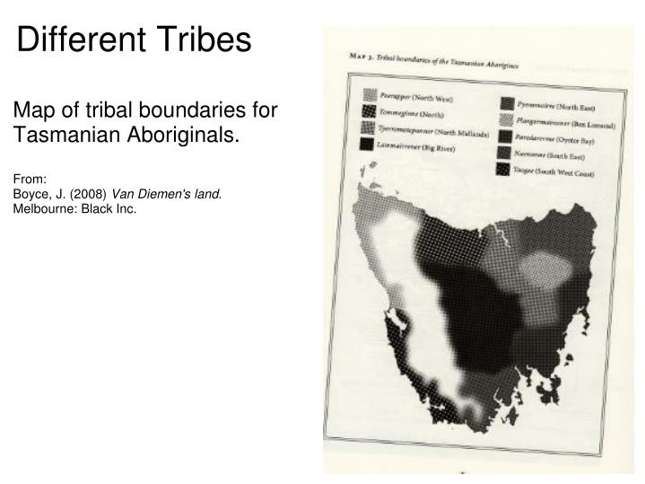 Different Tribes