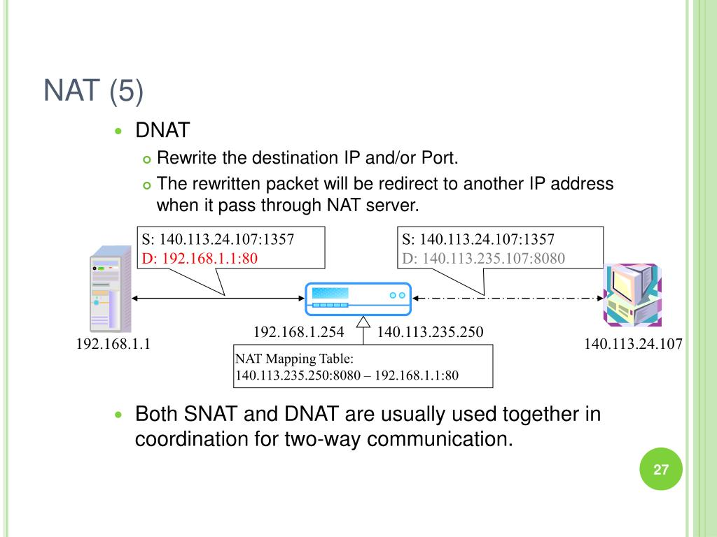 PPT - DHCP, Firewall and NAT PowerPoint Presentation - ID:6332781