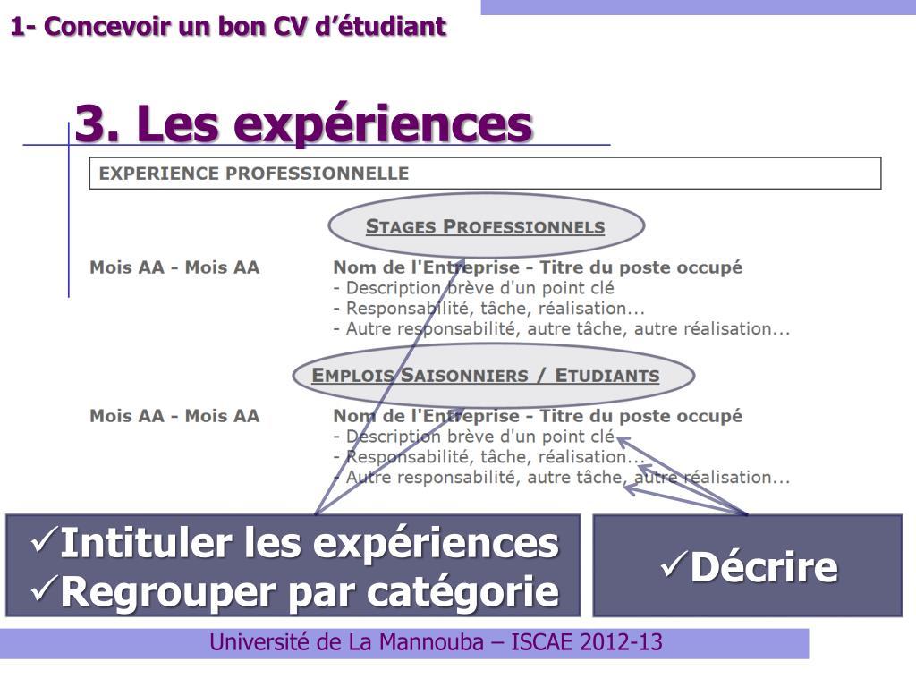Ppt Préparer Un Bon Dossier De Candidature Pour Un Stage