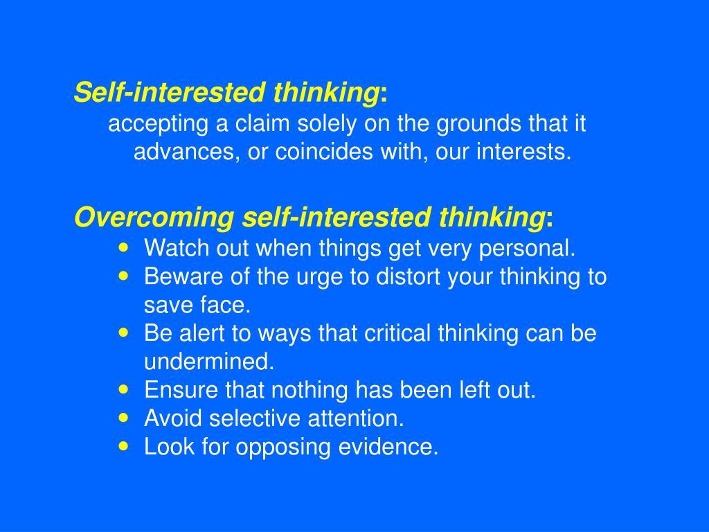Premise Indicator Words: Critical Thinking: PowerPoint Presentation