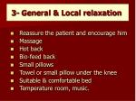 3 general local relaxation