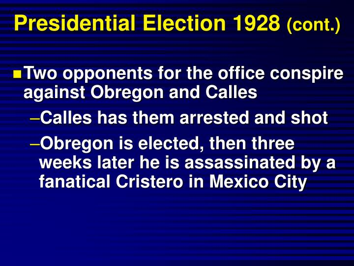 Presidential Election 1928