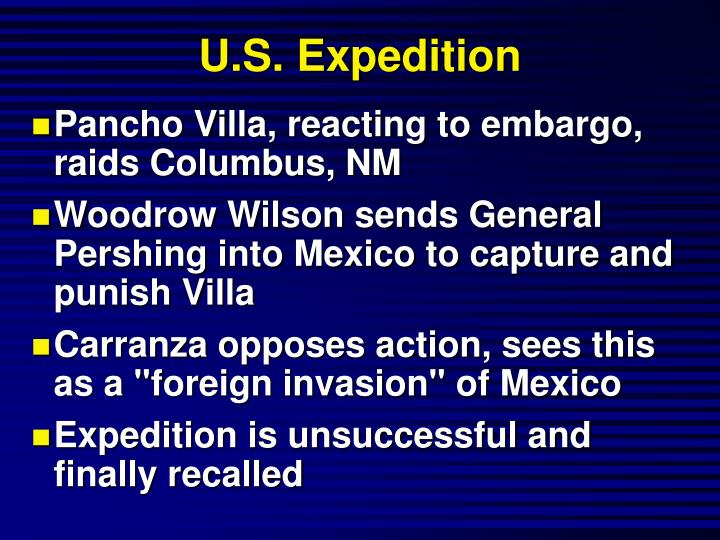 U.S. Expedition