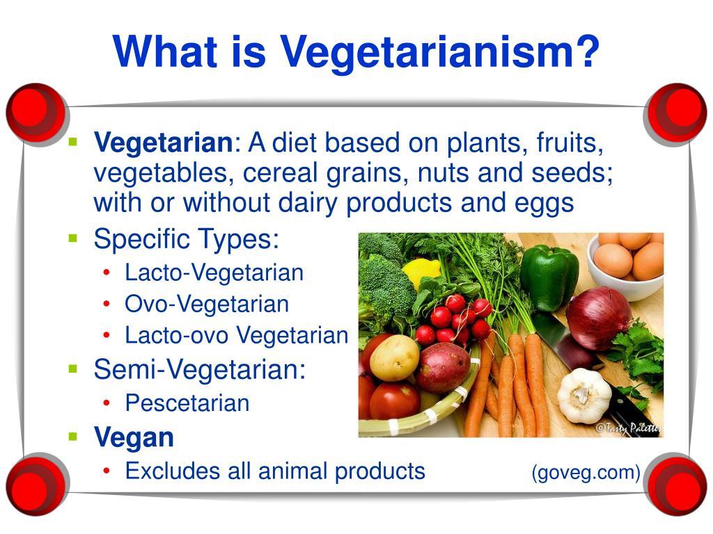 PPT - Vegetarianism PowerPoint Presentation, free download ...