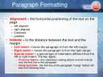 paragraph formatting1