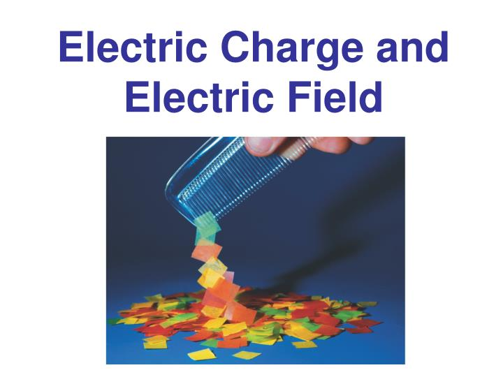 electric charge and electric field n.