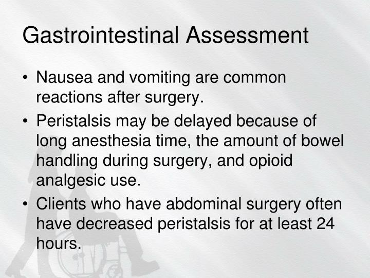 Gastrointestinal Assessment