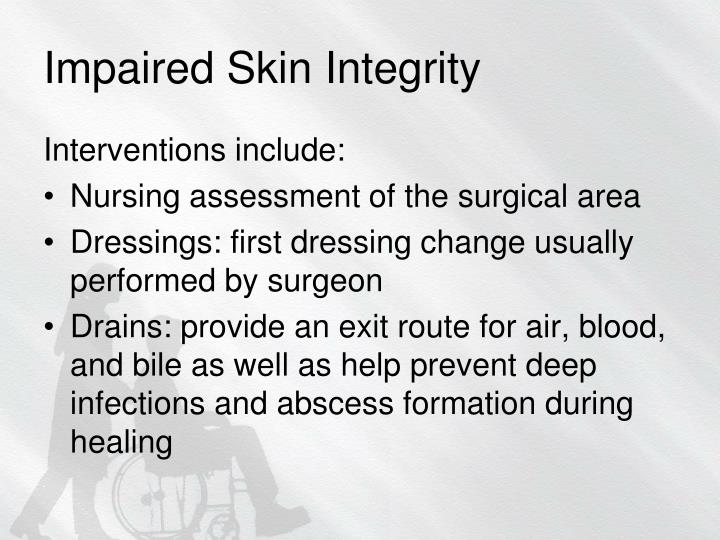 Impaired Skin Integrity