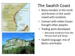 the swahili coast