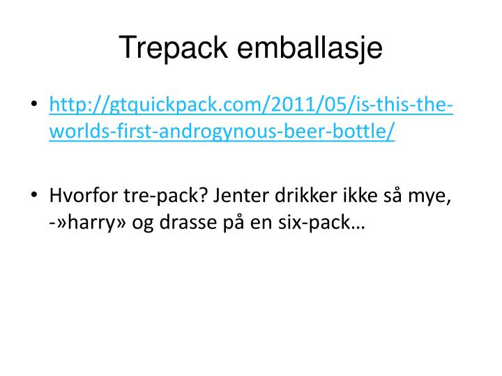 Trepack