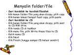menyalin folder file