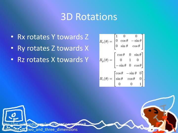 3D Rotations