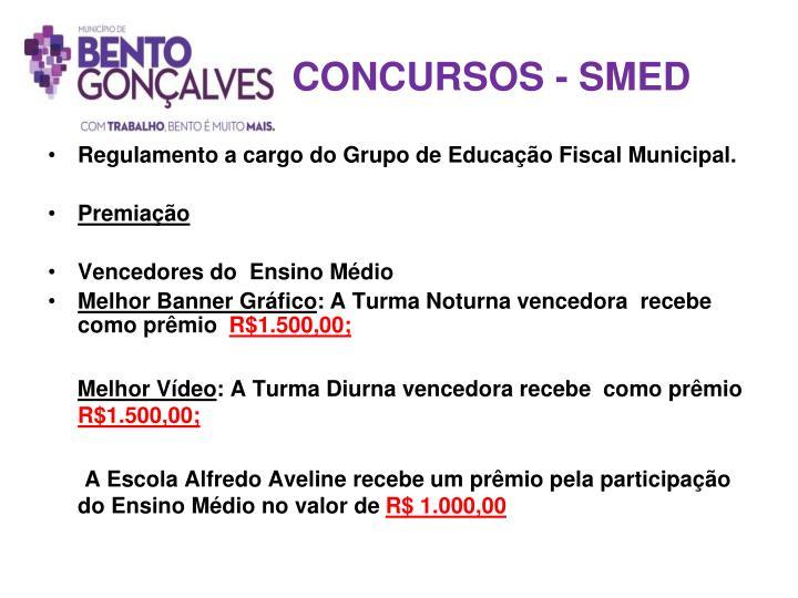 CONCURSOS - SMED