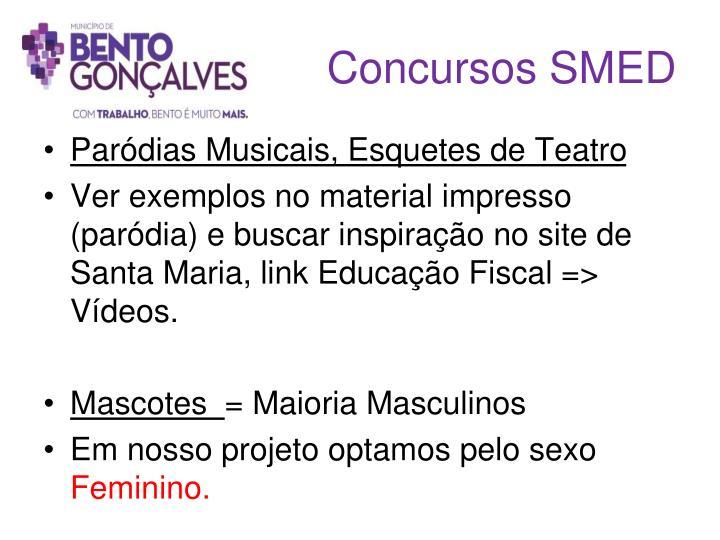 Concursos SMED