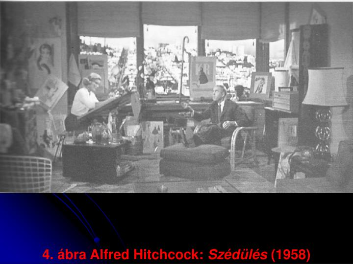 4. ábra Alfred Hitchcock: