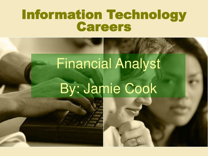 information technology careers n.