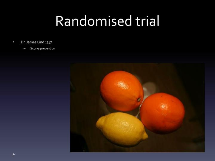 Randomised trial
