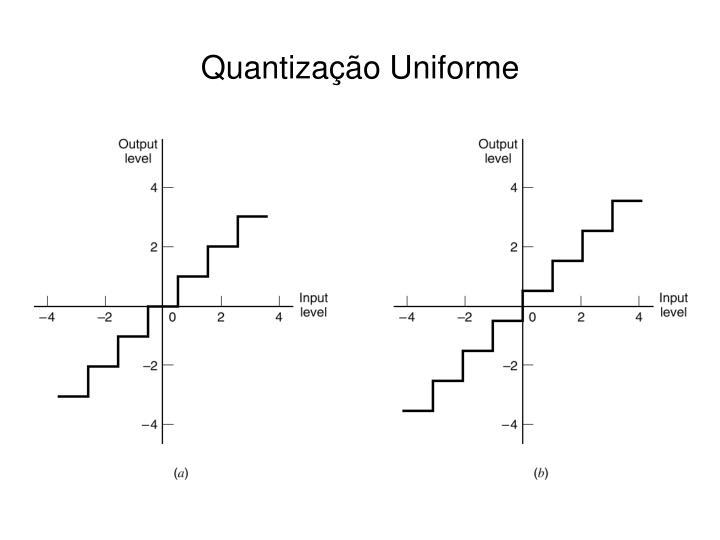 Quantização Uniforme