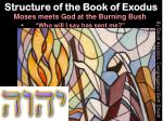 structure of the book of exodus2