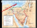 structure of the book of exodus3