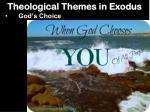 theological themes in exodus