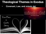 theological themes in exodus2