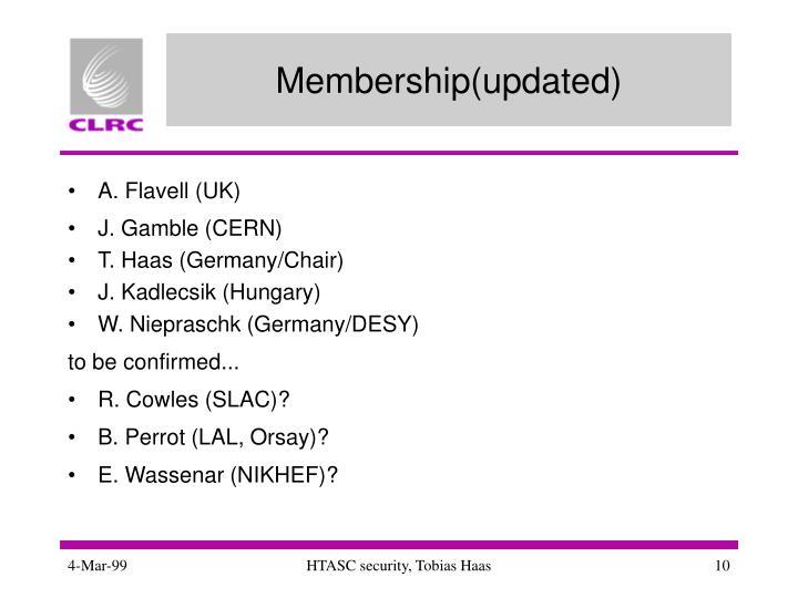 Membership(updated)