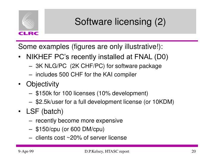 Software licensing (2)