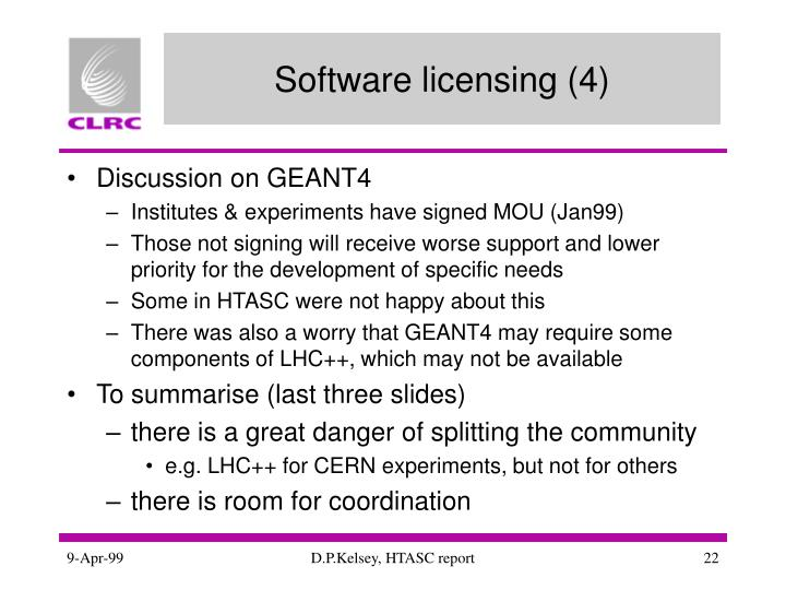 Software licensing (4)